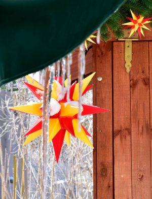 Herrnhuter star Moravian star outdoor 16 inch