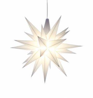 5 inch star white
