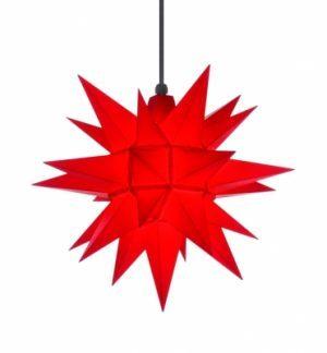 16 inch star red