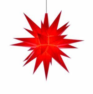 5 inch star red