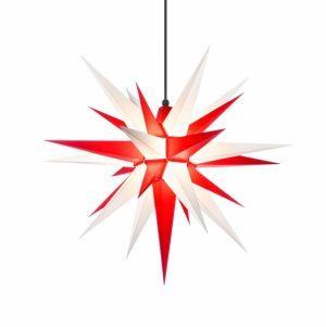 27 inch star red/white