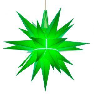 5 inch star green
