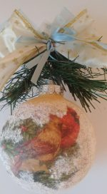 Christmas ornament with birds