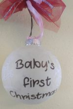 "Christmas ornament for baby""s 1. Christmas"
