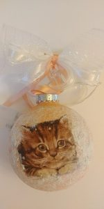 Christmas Ornament for cat lover