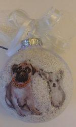 Christmas ornament for dog lover