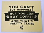 Magnet for coffee friends